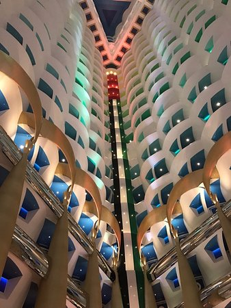 Inside The Burj Al Arab Picture Of Nathan Outlaw At Al
