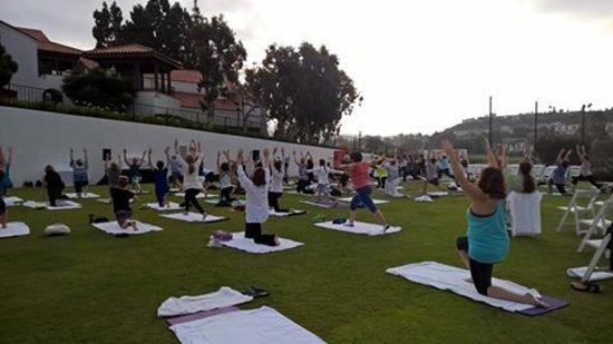 Omni La Costa Resort and Spa: Yoga class with Chopra center