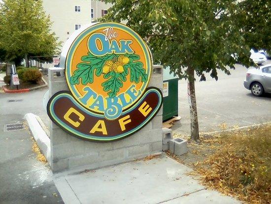 The Oak Table Cafe In Silverdale Washington Picture Of Oak Table - Oak table restaurant silverdale
