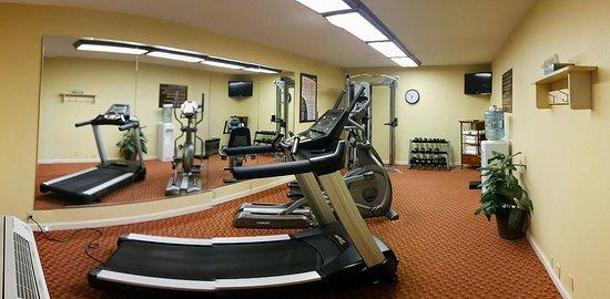 Best Western Hickory: Nice, modern fitness center.