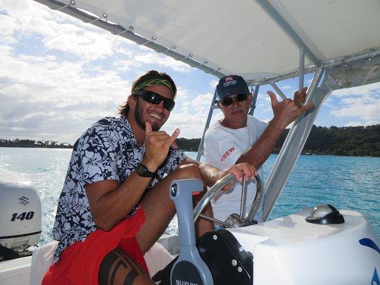 Safari raies/requins - Moana Adventure Tours