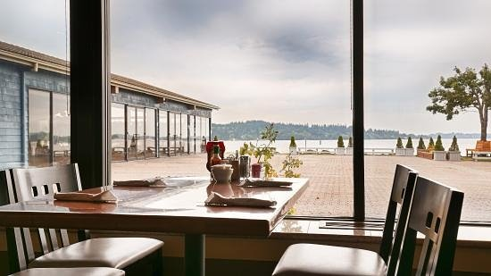 Silverdale, WA: My table with a view
