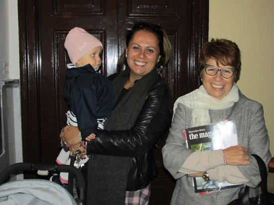 Eterna Roma : Francesca and her Mom (and the newest addition to family)