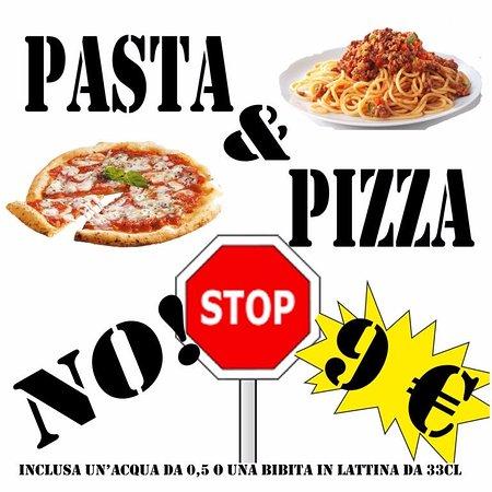 Lavinio Lido di Enea, Italia: Menu Pizza e Pasta NO STOP €9