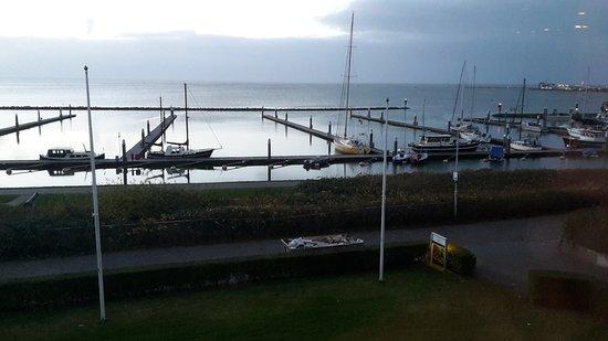 Terschelling, Belanda: marina view