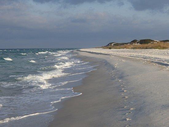 Port Saint Joe, Floryda: Gulf beach at St. Joseph Peninsula State Park