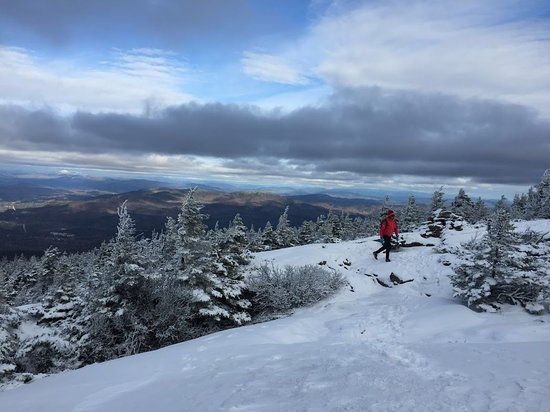 Warner, Nueva Hampshire: The top of Mt. Kearsage, 11/27/16
