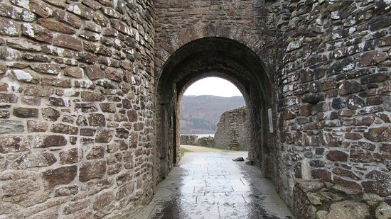 Drumnadrochit, UK: Entry to the castle.