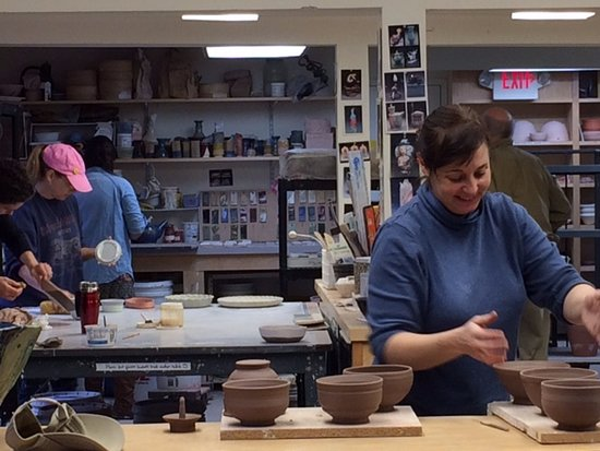 Cooperstown, NY: Making art at The Smithy Clay Studio!