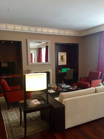 Palacio Duhau - Park Hyatt Buenos Aires: Suite Alvear - Living