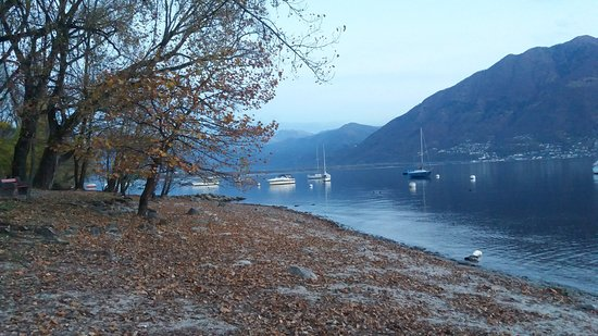 Lago Mayor, Suiza: Paisagem deslumbrante