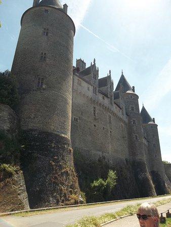 Josselin, Frankrig: coté médiéval