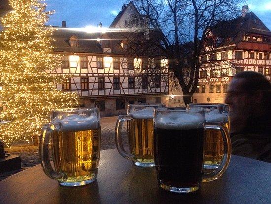 Cafe-Bar Wanderer & Bieramt: great beer