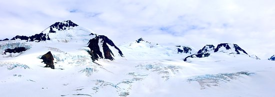 Girdwood, AK: This was taken from the helicopter on our trip -- amazing!