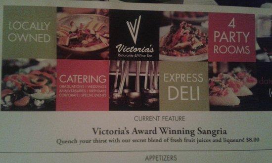 Victoria's Restaurant and Wine Bar Photo
