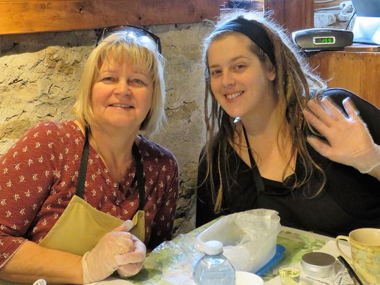 Grimsby, Kanada: Mom and Daughter