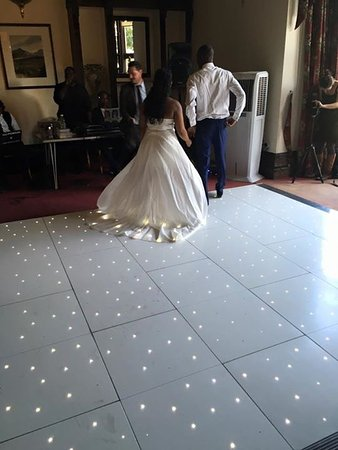 "Woodhouse Eaves, UK: Dance floor 12""x12"""