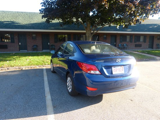 Laconia, Nueva Hampshire: Motel style accommodation