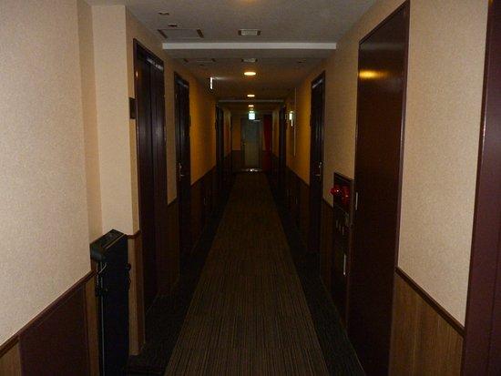 HOTEL Kuretake Inn Kikugawa Interchange : 10階廊下