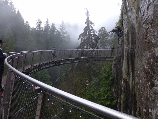 North Vancouver, Canada: The cliff walk, again.