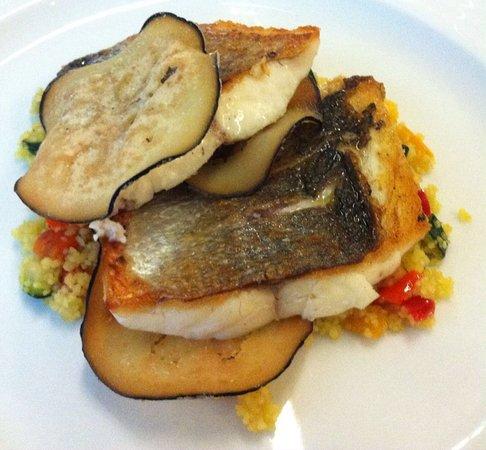 Seveso, إيطاليا: couscous e branzino