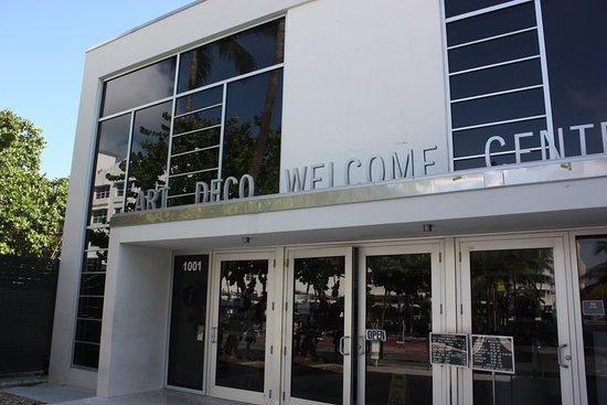 MDPL Art Deco Welcome Center