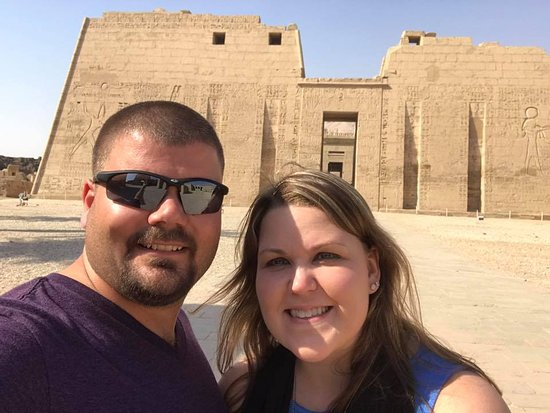 Aladin Tours - Day Tours: Visiting a our favorite temple in Luxor.