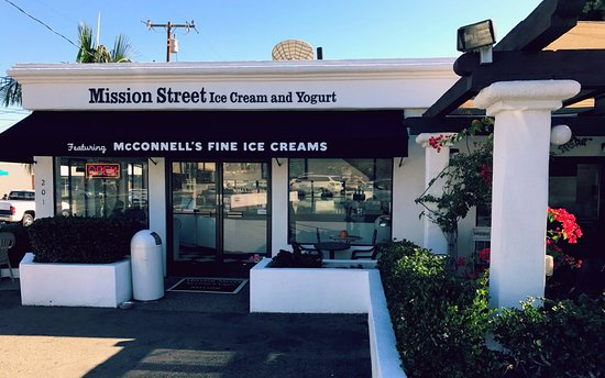 Photo of Restaurant Mission Street Ice Cream and Yogurt - Featuring McConnell's Fine Ice Creams at 201 W. Mission St, Santa Barbara, CA 93101, United States