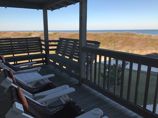 Duck, NC: View from private balcony