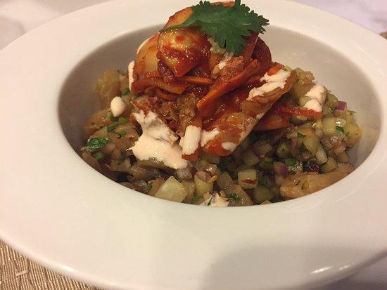 Manao Cebicheria: Ceviche con kimchi!! excelente!