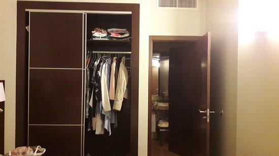Marriott Executive Apartments Panama City, Finisterre: No nos cabía la ropa!