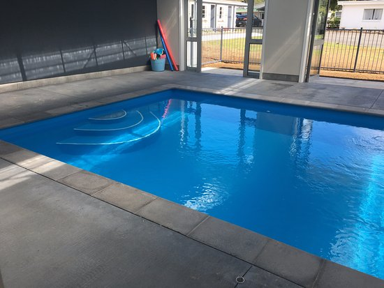 Stratford, นิวซีแลนด์: Indoor heated swimming pool