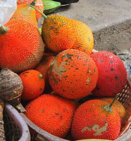 Can Duoc Market, Long An Province, Vietnam