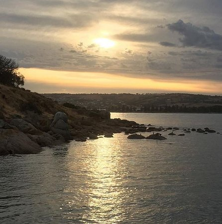 Victor Harbour, Australien: One last sunset taken from Granite Island