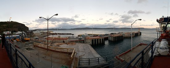 Portugal Cove, Canada: Panorama Bell Island ferry dock