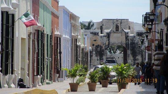 Campeche, Mexique : porte du nord