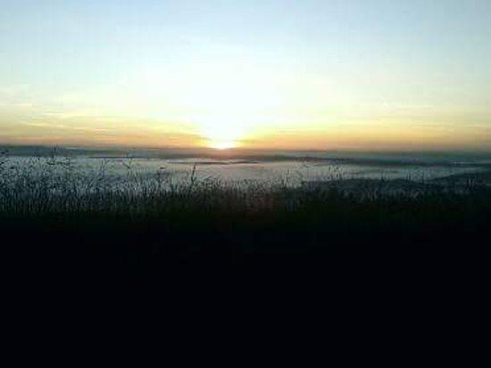 Ibituruna, MG: Esse é o pôr do sol, uma linda vista, indico muito, é perfeito 😍❤