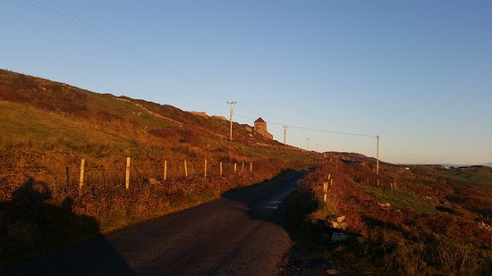 Clifden, Ireland: Sky Road at sunset