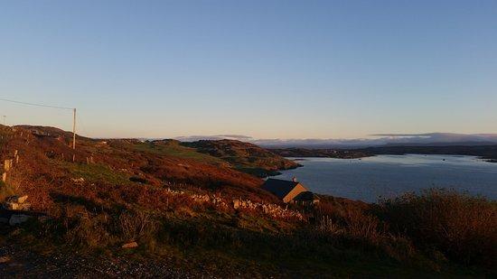 Clifden, Irlanda: Sky road at sunset