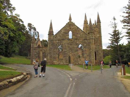 Port Arthur, Australia: The Church