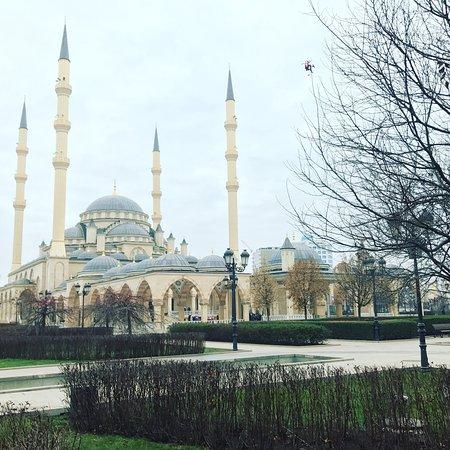 Photo0 Jpg Picture Of Heart Of Chechnya Akhmad Kadyrov Mosque Grozny Tripadvisor