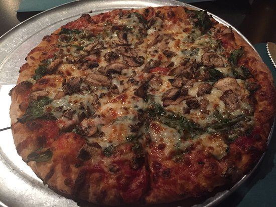 Oakdale, Πενσυλβάνια: Spinach and mushroom