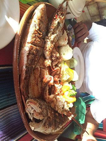 Nayarit, Mexique : Mariscada.