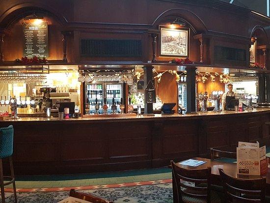 Market Harborough, UK: Bar