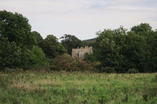Haltwhistle, UK: Neighborhood castle