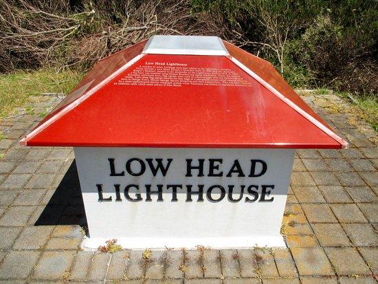 Low Head, Australien: A Miniature Head