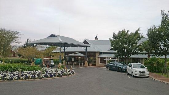 Caledon, Sør-Afrika: Hotel Front