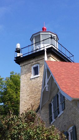 Fish Creek, WI: Eagle Bluff Lighthouse