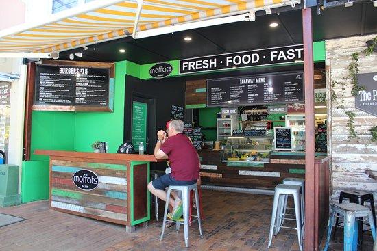 Caloundra, Australien: Front where to order