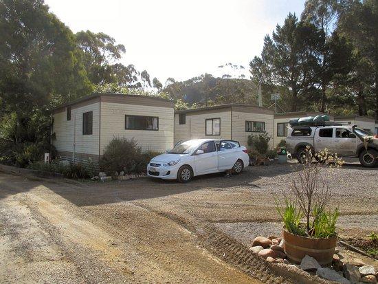 Zeehan, Australia: Cabins & Grounds